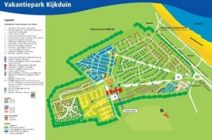 plattegrond Kijkduinpark